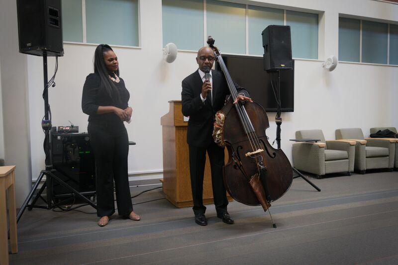 Speaking at University of Hartford Mentoring Event 2015